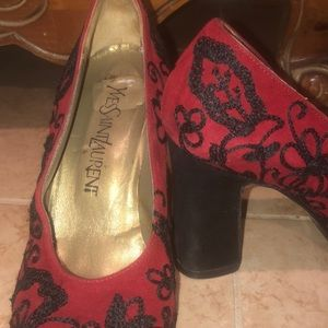 Yves Saint Laurent Shoes - Yves Saint Laurent Vintage Heels